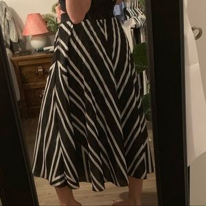 Midi Accordion Skirt